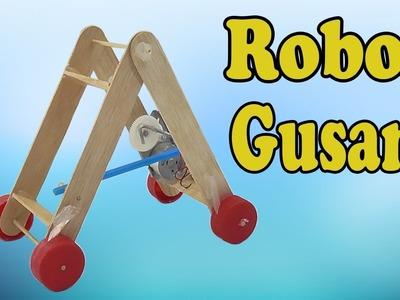 Cómo Hacer un Robot Gusano (Muy fácil de hacer)