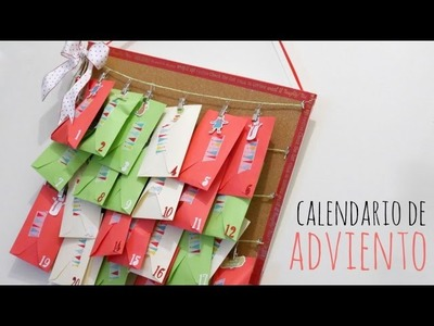DIY Calendario de Adviento para colgar. DN 2016 Episodio 2