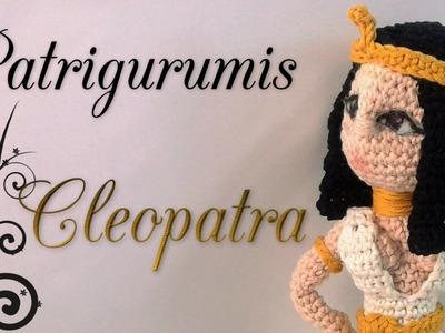 DIY Cleopatra Amigurumi en ganchillo-Crochet