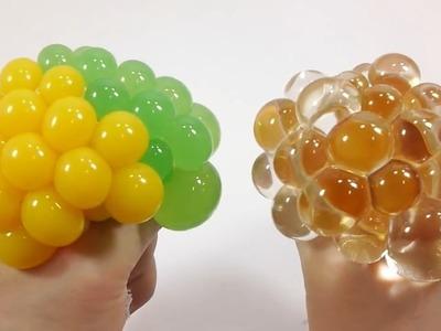 Diy Cómo Hacer Globos Bola De La Tensión Blando Aprender Colores Limo Juguete Sorpresa