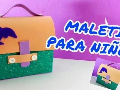 DIY- Maletin para niños de Foami.- Lolicrafts