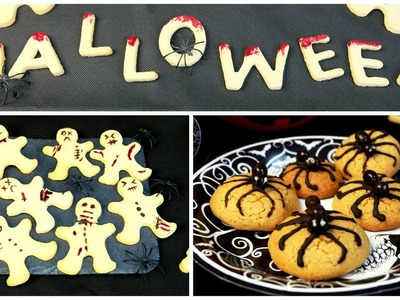 Galletas decoradas para Halloween - Receta de galletas con pocos ingredientes