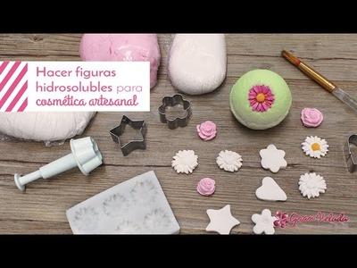 Hacer figuras hidrosolubles para cosmética artesanal