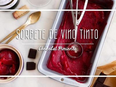 Haz un Sorbete de Vino Tinto Facilisimo|  Chokolat Pimienta ♥