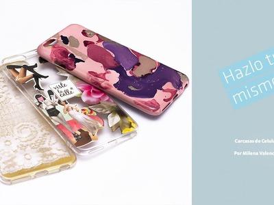 Hazlo Tú Mismo - Carcasas de celular: Stencil, Mármol y Collage