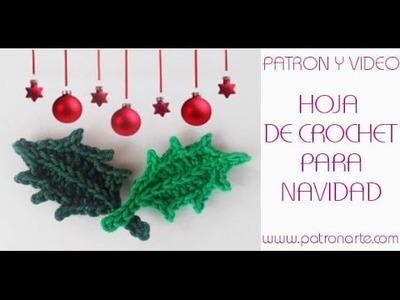 Hojas de Crochet para Navidad