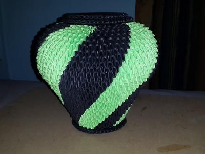 Jarrón - Origami 3D