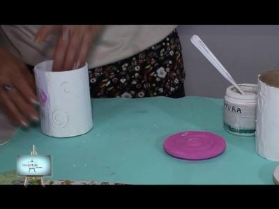Lindisimo reciclado !!! azucarera y yerbera para usar y adornar nuestra cocina!!!