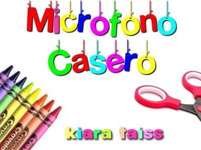 Micrófono casero: Manualidades para niños