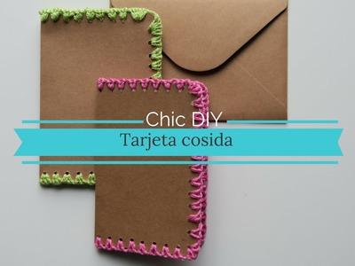 Tarjeta-Cosida DIY-Sew-Easy-Card