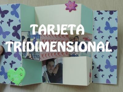 Tarjeta tridimensional aniversario - Sorpresas para tu pareja