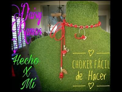 Choker Fácil de Hacer, Alambrismo, DIY