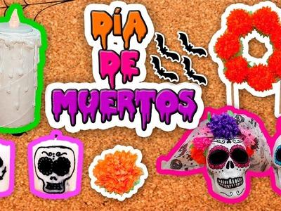 DIY | 5 Ideas para decorar tu ofrenda en día de muertos | Fácil | PumitaNegraArt