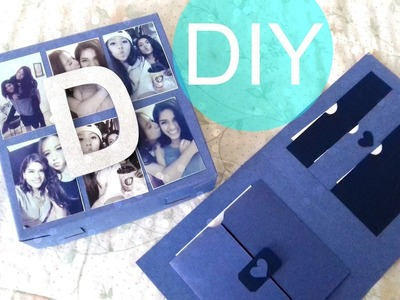 DIY ♡ BOX-CARD ♡ UNA ORIGINAL FORMA DE REGALAR TARJETAS ♡