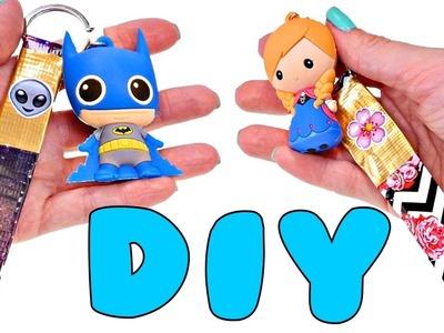 DIY Como Hacer Unos Geniales Llaveros Utilizando Duct Tape ✄ Manualidades Faciles para Niños