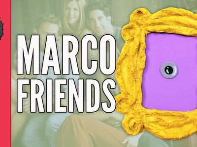 DIY MARCO FRIENDS - Manualidades con cartón (manualidades fáciles)
