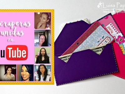 DIY Sobres Para Regalar Dinero | Scraperas Unidas | Envelope Punch Board | Luisa PaperCrafts