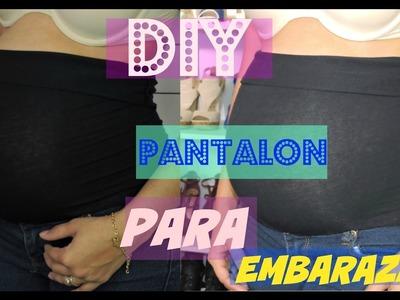 DIY: Como Convertir un Pantalon Normal en un Pantalon para el Embarazo | De una Manera Facil