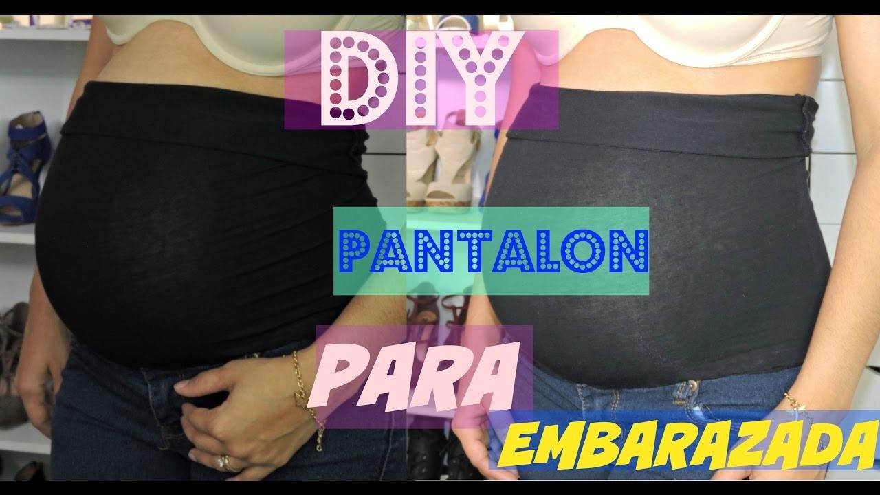 DIY: Como Convertir un Pantalon Normal en un Pantalon para el Embarazo   De una Manera Facil