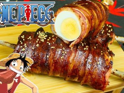 Carne Asada y Huevo de One Piece con @SuperPilopi