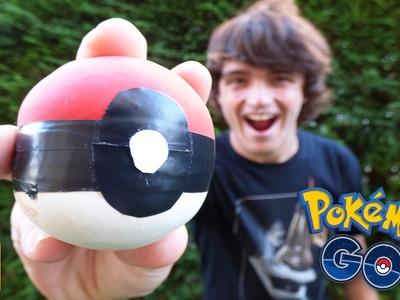 Cómo hacer una bola antiestres POKEBALL casera - Pokémon Go