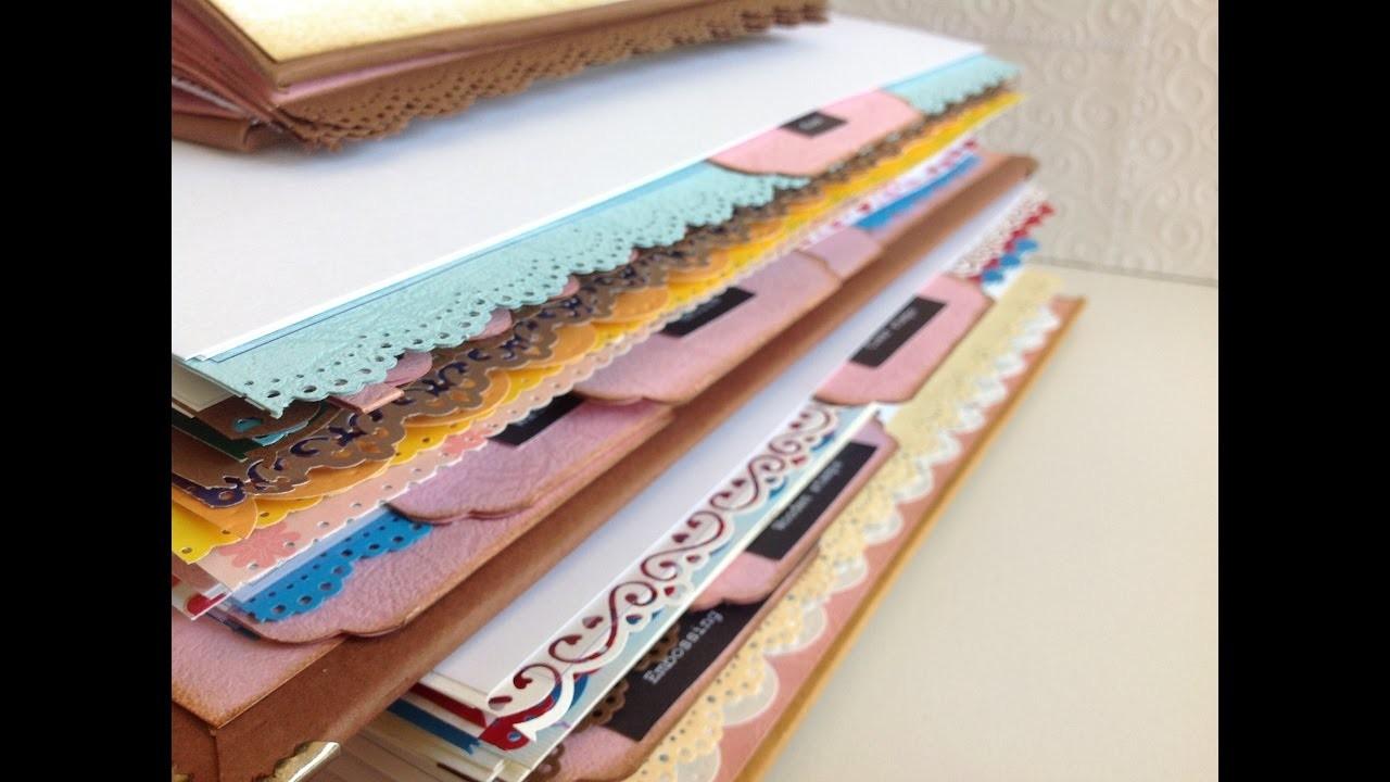 Còmo organizo mis materiales para scrapbook en un Catálogo.Muestrario.