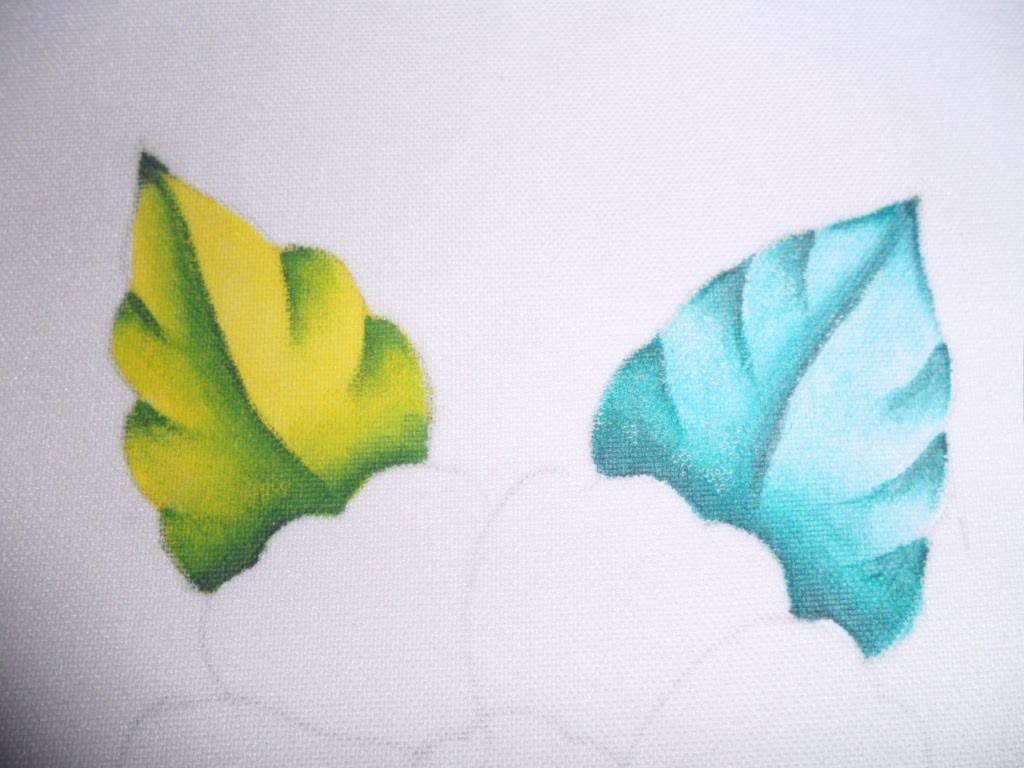 Como Pintar en Tela Con Tonos Frios y Cálidos (Pintura Básica)