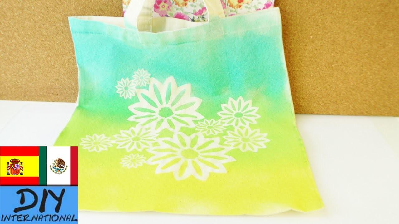 Decora tus bolsos de tela en sencillos pasos   Tutorial