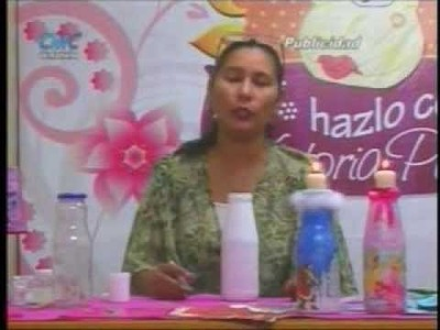 Decoración de Botellas de Vidrio