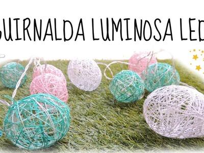 GUIRNALDA DE LUCES LED DECORATIVA