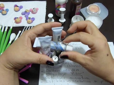 Materiales utilizados para elabora apliques de porcelanicron video 229