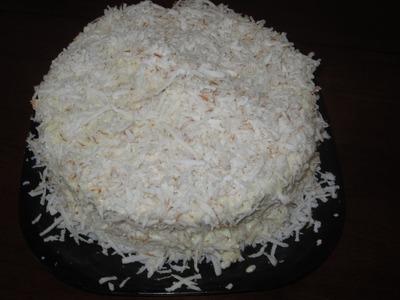 Pastel de coco- Coconut Cake