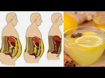 ¿Quieres eliminar toda la grasa de tu vientre? Solo tienes que tomar esta increíble receta