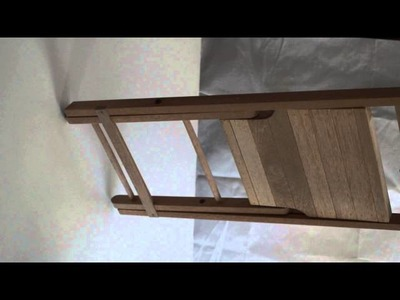 Silla plegable en madera de Banak para  jardín o terreza