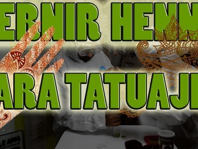 Tatuajes de Henna Cap. 1; Cernir Henna | NQUEH