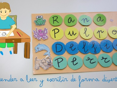 Aprender a leer y escribir de forma divertida - Learn to read and write in a fun way