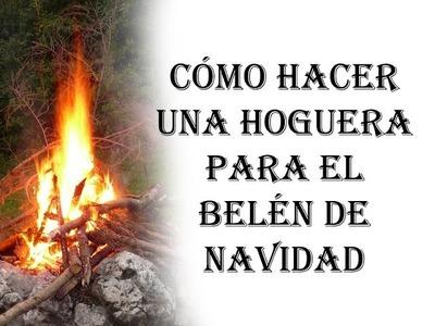 [BELENISMO] - Cómo hacer una llama de fuego (hoguera, antorcha, etc)