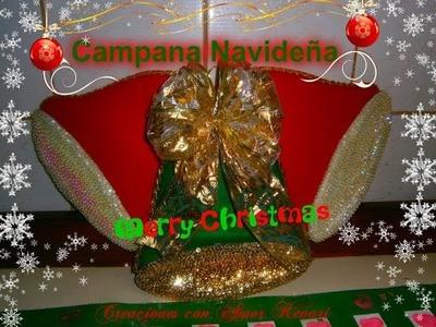 Campanas Navideñas de Fieltro y Proyectos  realizados de suscriptoras.Felt Christmas bells