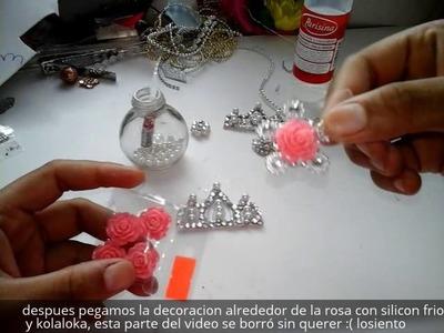 Centros para moños + Coronita de diamantes