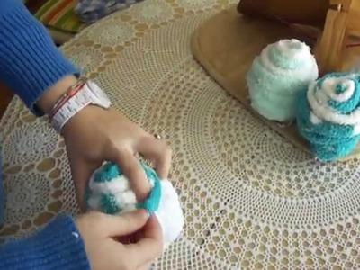 Cupcake con calcetines.MP4