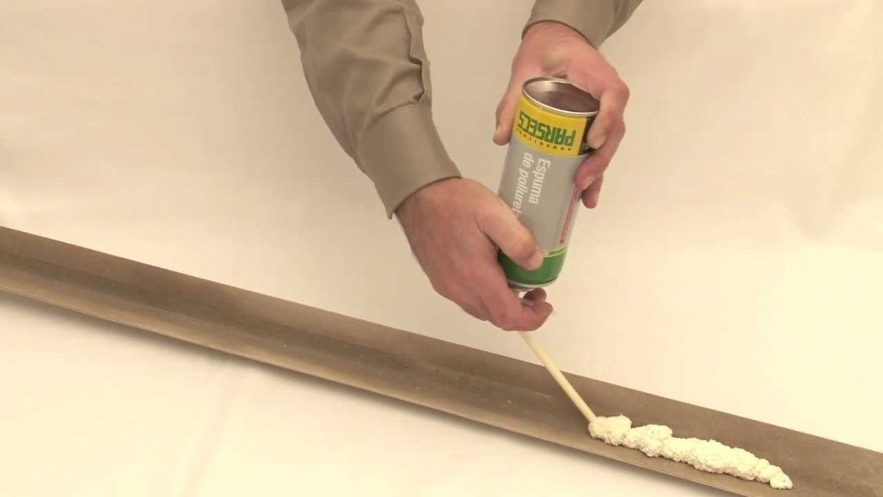 Espuma de Poliuretano Parsecs - Modo de uso