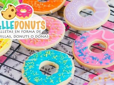 GALLEDONUTS | Galletas en forma de rosquillas, donuts o donas | Quiero Cupcakes!