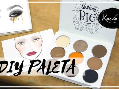 Haz tu propia paleta de sombras  inspirada en la Kyshadow Palette de Kylie Jenner!! | #FemLife :)