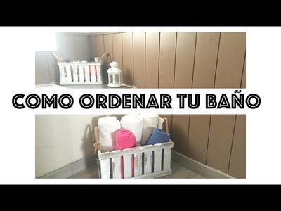 Ideas para Organizar tu Baño