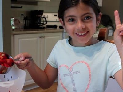 Mermelada de Fresa - Recetas para Niñas y Niños