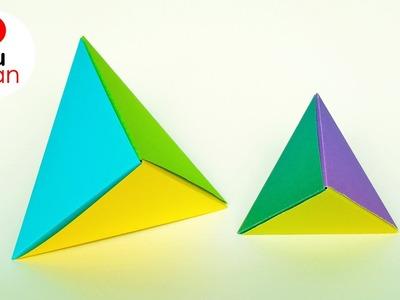 "Origami Modular ""Fox Box"" - JuanTu3"