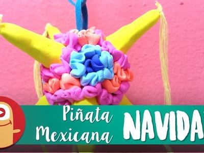 Piñata Mexicana. Siete Picos con Fomi Moldeable - LOS MARCIANOS LLEGARON