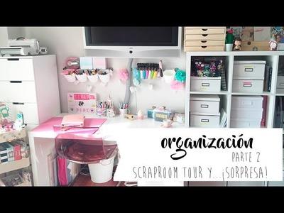 Scraproom tour y. . sorpresa!! (parte 2)