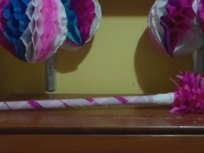 Como forrar un palo para la piñata