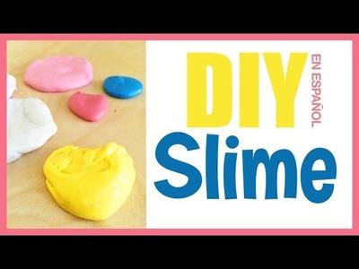 Como Hacer Slime con solo 3 Ingredientes - Sin Borax